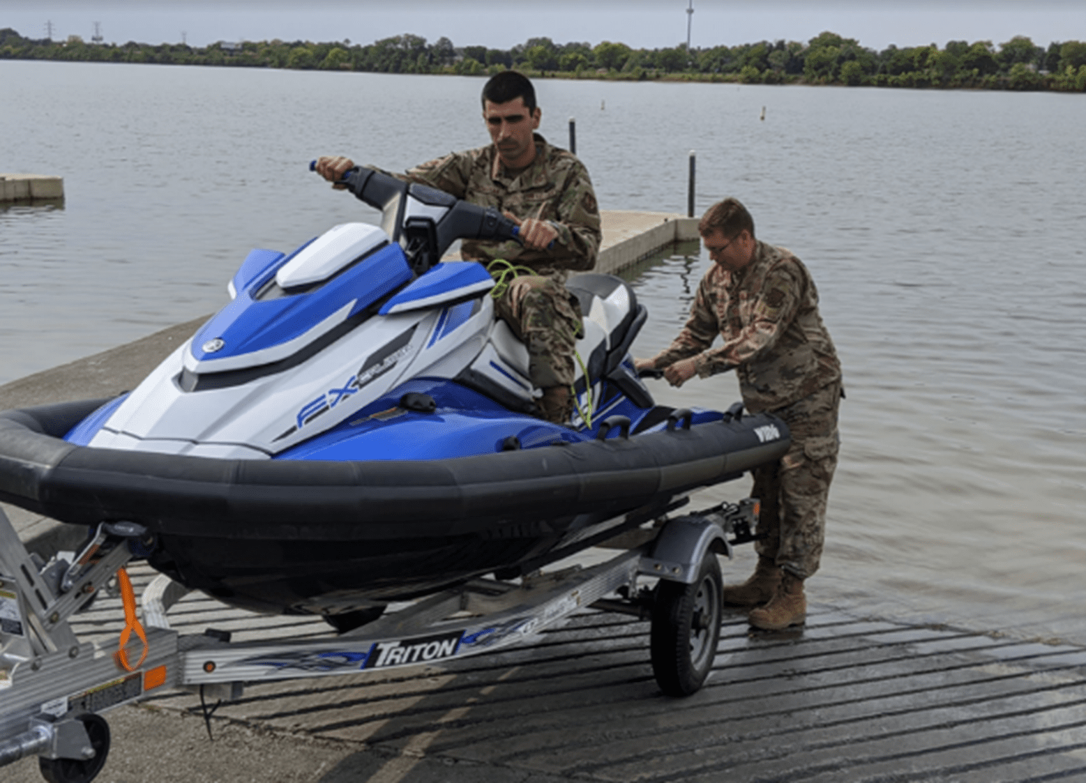 WBI-Works Team Aids AFRL in Testing of Game-Changing Unmanned Aquatic Rescue Vehicle